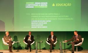Especialistas debateram educação que dá certo em um mundo em constante transformação (Foto: Marcus Quint)