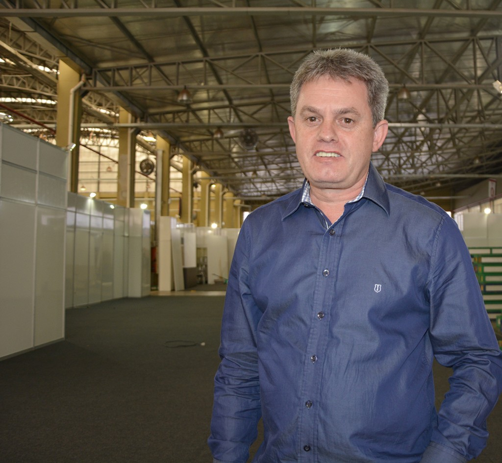Adir Luiz Kist, diretor da Daico Móveis Planejados está otimista para 10º edição da Mercomóveis que inicia na segunda-feira (14)