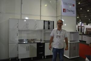 Antônio Dacheri está satisfeito com os negócios fechados na Mercomóveis 2017