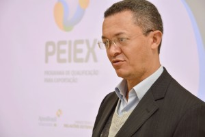 O evento foi conduzido pelo gestor de projetos setoriais de casa e construção da APEX-BRASIL, Paulo Roberto da Silva