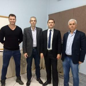 Douglas Lenhardt (MPO), Fábio Furtado (AIRON), Marcelo Cunha Jr e Gilberto Lenhardt (MPO)