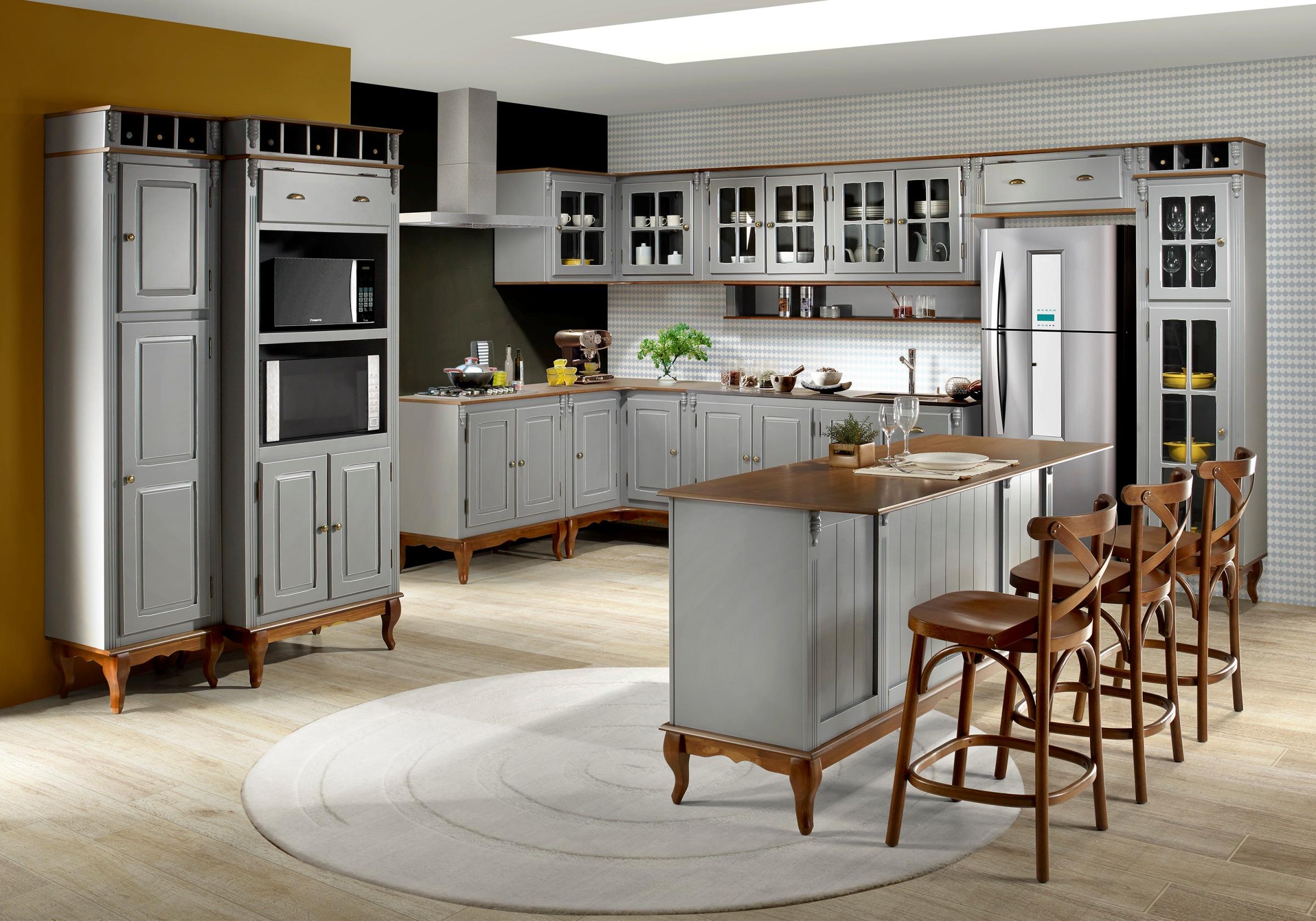 Um dos lançamentos da Linz será a Cozinha Gourmet Clássica Modulada